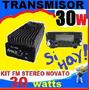Transmisor Fm Para Radio Comunitaria 30w Emisora Stereo