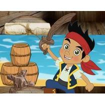 Kit Imprimible Jake Y Los Piratas Del Nunca Jamas