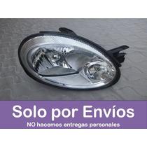 Faro Foco Neon 2003 Al 2006 Lado Derecho Cromado - Copiloto