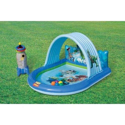 Centro de juego acuatico piscina para ni os toy story for Piscinas toy