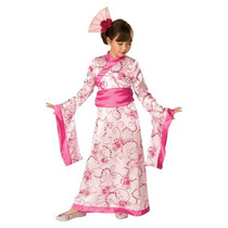 Disfraz De Princesa Asiatica Talla S 2-4