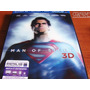Superman Man Of Steel ( Blu-ray 3d+blu-ray+dvd+ Uv ) Nuevo