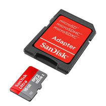 Memoria Sandisk 16gb Micro Sd Hc Clase 10 Uhs-1 La Mejor!!