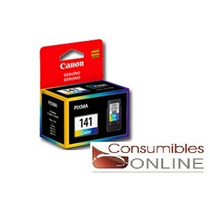 Cartuchos Canon 141 Color Original Pixma Mg 2110 3110 4110