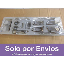 Kit Interno Covers Cromados Tablero Hyundai Tucson 15 Piezas