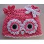Espectaculares Gorritos En Crochet - Tallas 0 A 12 Meses