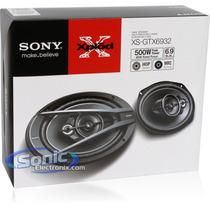 Cornetas Sony 6x9 De 500w De 3 Vias Nueva Serie
