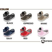 Crocs Crocband Classic Y Lined Suecos Zapatos Originales