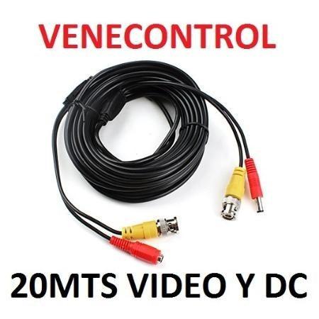 Cable coaxial camara seguridad cctv bnc video corriente - Cable coaxial precio ...