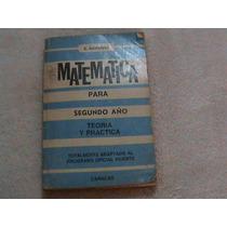 Libro Navarro Matematica Segundo Año 2 8 Teoria Y Practica