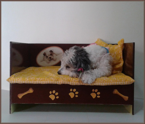 Camas para mascotas en madera mediana 60x50 bs - Camas para perros de madera ...