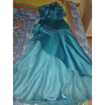 Elegante Vestido De Fiesta Largo