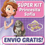 Kit Imprimible Princesa Sofia De Disney Diseñá Tarjetas Etc