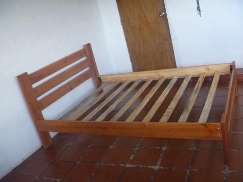 Cama matrimonial de madera nueva bs syv4n precio for Camas de madera precios