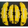 Cubre Caliper Brembo Color Amarillo, Letras 3d !!!