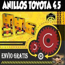 Anillos Toyota 4.5 Marca Npr Originales