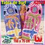 Tabla De Surf Inflable Niños Adultos Bestway 168x76cm 42020