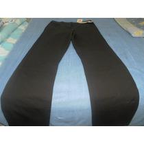 Pantalon De Color Chocolare Talla (10) Stretch