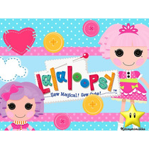 Kit Imprimible Lalaloopsy Muñecas De Trapo Diseñá Tarjetas