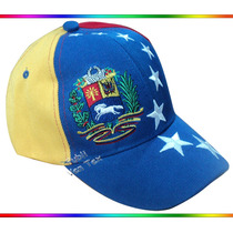 Gorra Tricolor De Venezuela - Excelente Bordado