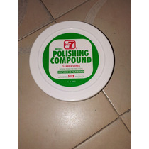Rubbing Compound Polishing