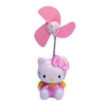 Nuevo Ventilador De Pared / Usb De Hello Kitty Para Niñas