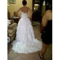 Vestido De Novia Corset Y Falda Barato !!!!!