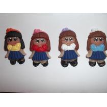 Muñecas Apliques Masa Flexible!