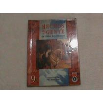 Libro Hechos Gente Catedra Bolivariana 9 Noveno Grado Año 3
