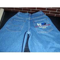 Nautica Pantalones 100% Originales Talla 28-- 35 Cm X 100 Cm