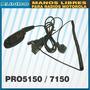 Manos Libres Tubo Acustico Transparente Pro5150, Pro7150