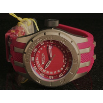 Reloj Invicta Mens Force Coalition Red Gmt Swiss Polyrethane