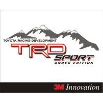 Calcomania Stickers Trd Andes Edition Hilux, Autana, Tundra