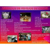Alquiler De Sillas De Festejo, Mesas Y Mesones, Toldos,