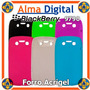 Forro Acrigel Blackberry Bold 6 9790 Estuche Funda Goma Bb