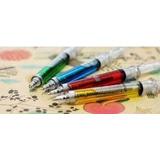 Bolígrafos C/forma Inyectadora Colores Variados
