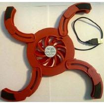 Base Fan Cooler Mini Laptop Disipador Enfriador 1 Fan Usb