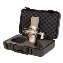 Microfono Condensador Profesional Con Base Mxl 2006