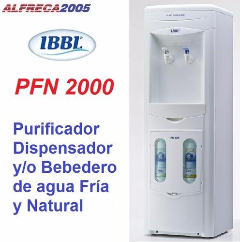 Dispensador filtro purificador de agua fria natural - Filtro de agua precio ...