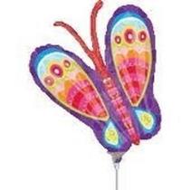 Globos Metalizados Flores Mariposas Abeja De 14