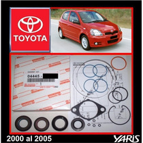 Yaris 2000 -05 Kit Cajetin Direccion Hidraul Original Toyota