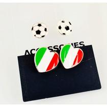 Zarcillos Accesorios Mundial Futbol Brasil 2014