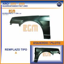 Guardafango O Parafango Izq Fiat Uno Fire 2005 Al 2010