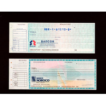 Bancor Banco Nororiental. , Dificil Cheque De Coleccion .