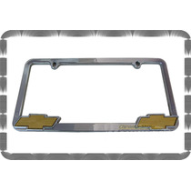 Portaplacas Cromados Chevrolet Ford En Relieve **importado**