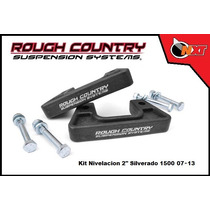 Kit Rough Country Nivelación 2plg Silverado 07-14
