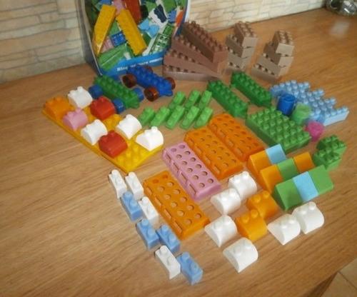 Legos bloques grandes 78 piezas juguete didactico nuevos - Piezas lego gigantes ...