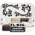 Vinilos Decorativos Para Paredes Florales Mariposas Stickers