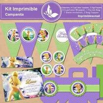 Kit Imprimible Campanita Tinkerbell Fiestas Cumpleaño