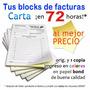 Facturas Seniat: 1 Facturero Tamaño Carta (50 Orig.y Copias)